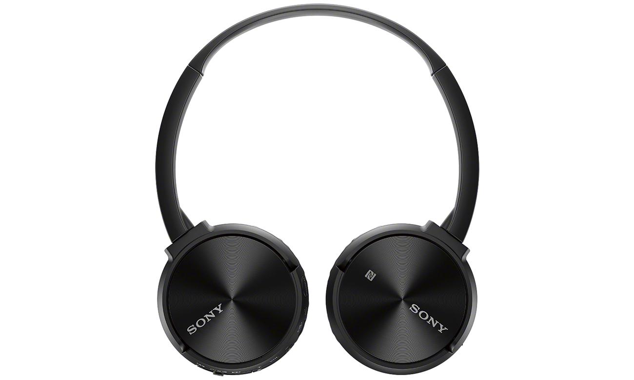 Obrotowa i składana konstrukcja słuchawek nausznych Sony MDR-ZX330BT