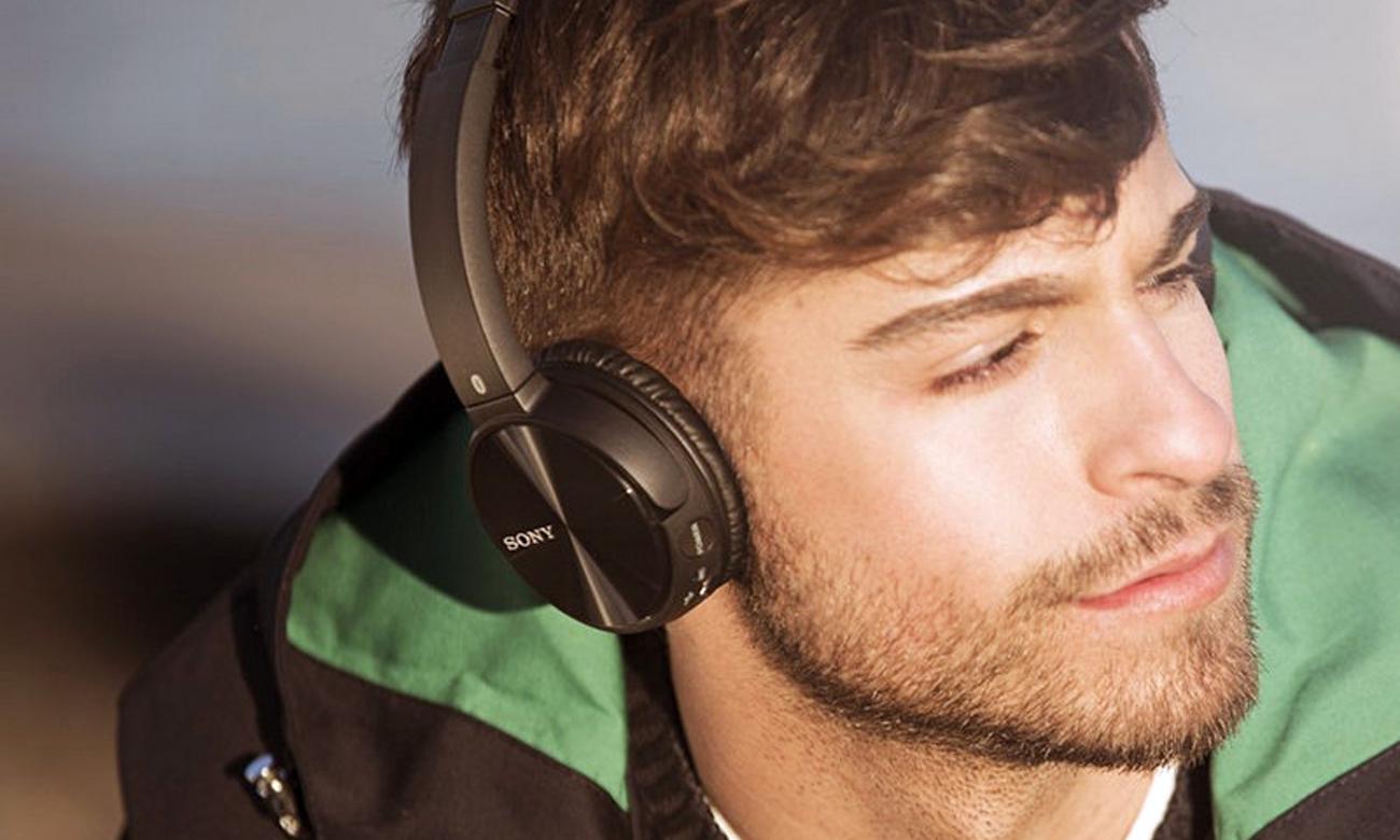 Sony MDR-ZX330BT przyjemność słuchania