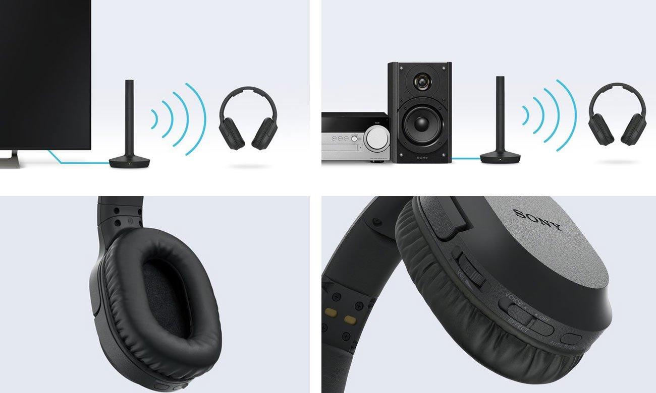 Słuchawki do TV i domowych systemów audio Sony MDR-RF895RK