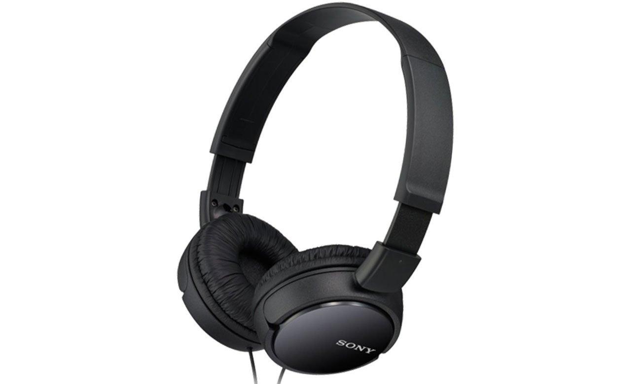 Nauszne słuchawki Sony MDR-ZX110AP czarne