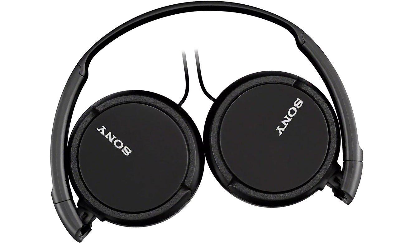 Składane słuchawki nauszne Sony MDR-ZX110APB