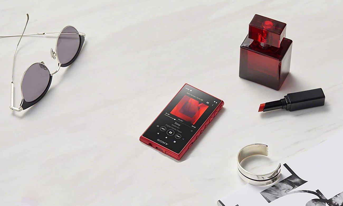 Budowa odtwarzacza audio Sony Walkman NW-A105