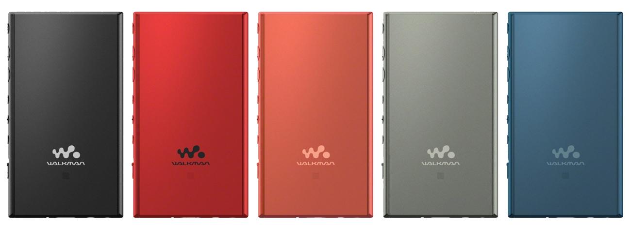Funkcje odtwarzacza Sony Walkman NW-A105