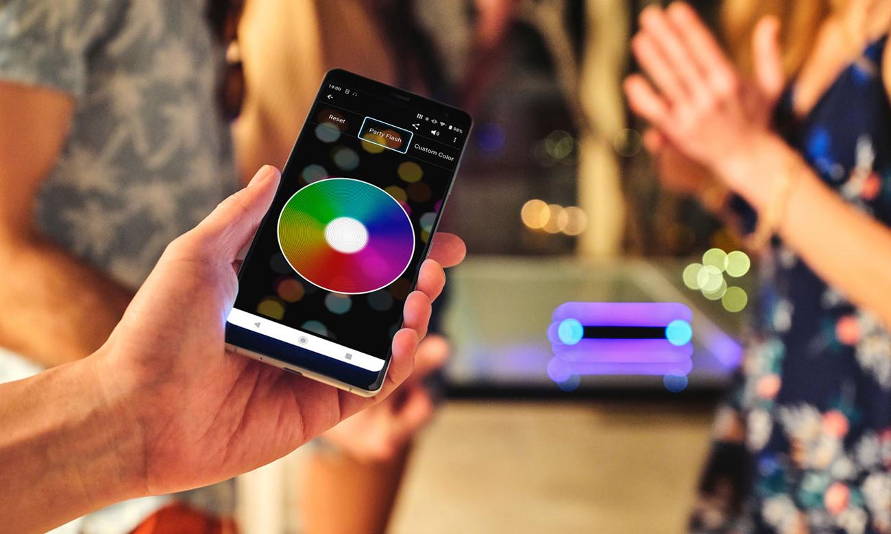 Głośnik BT z efektami świtlnymi Sony SRSXB32B