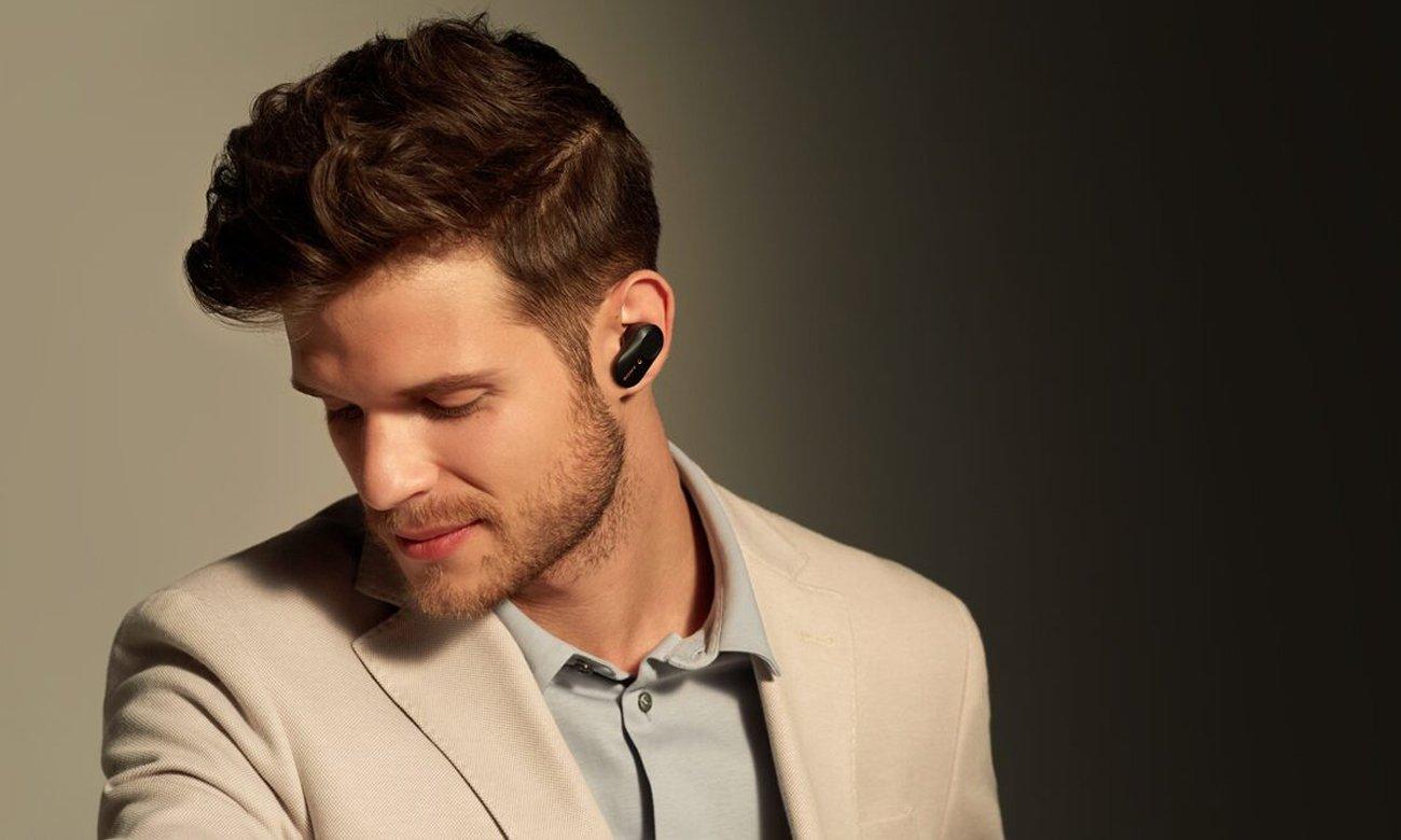 Słuchawki bezprzewodowe z systemem redukcji hałasu Sony WF-1000XM3 czarne