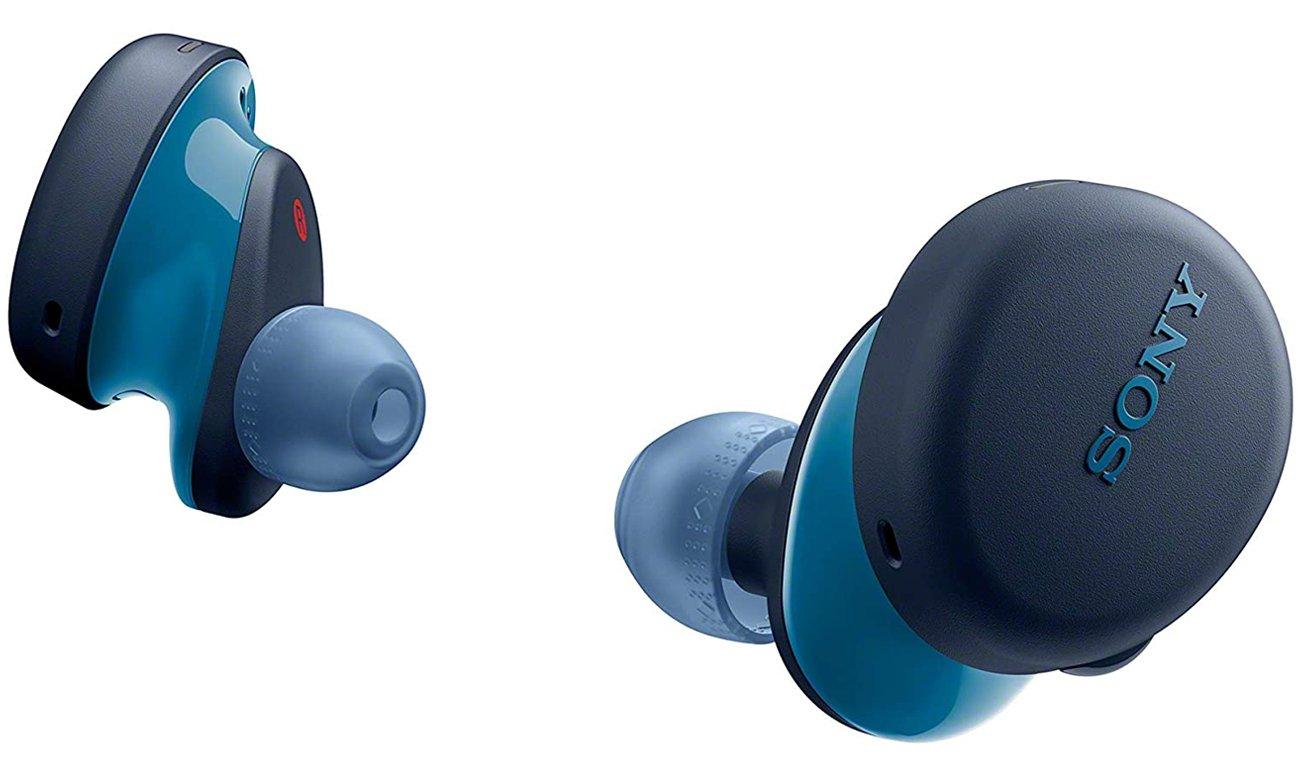 Słuchawki bezprzewodowe Sony WF-XB700L niebieskie
