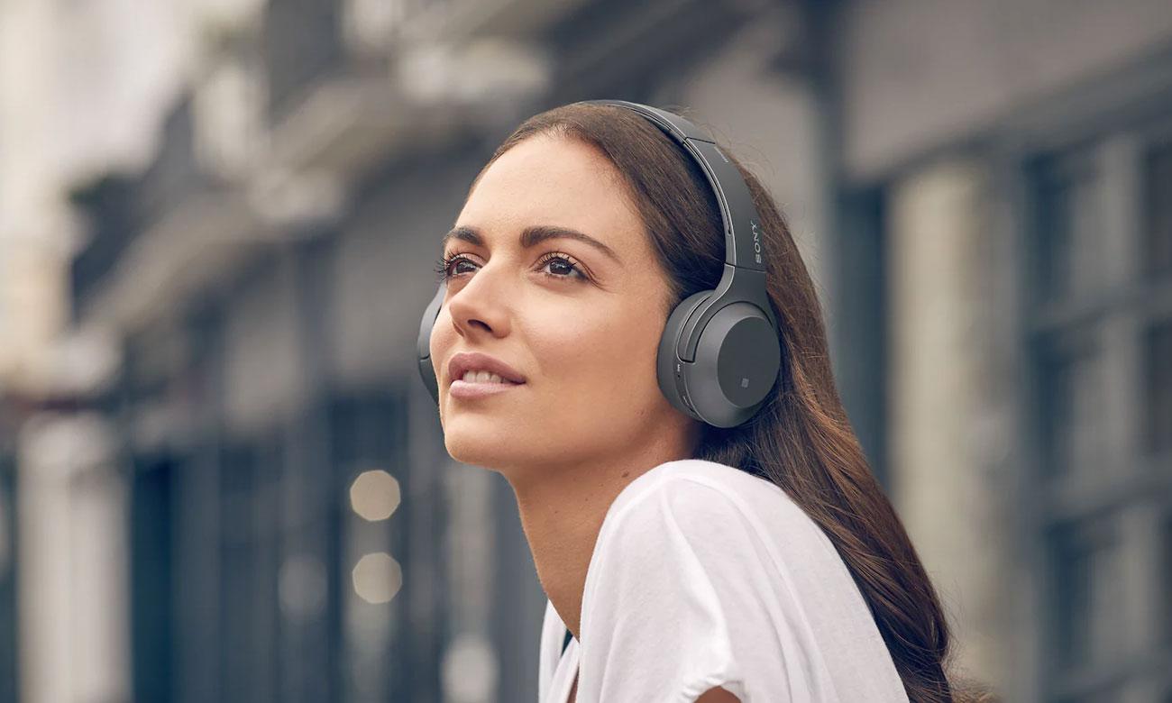 Słuchawki bezprzewodowe Sony WH-H800B czarne