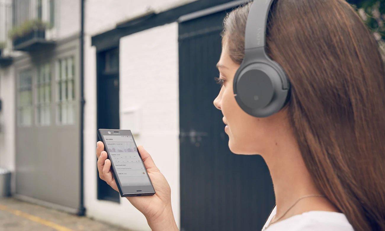 Aplikacja do słuchawek bezprzewodowych Sony WH-H800