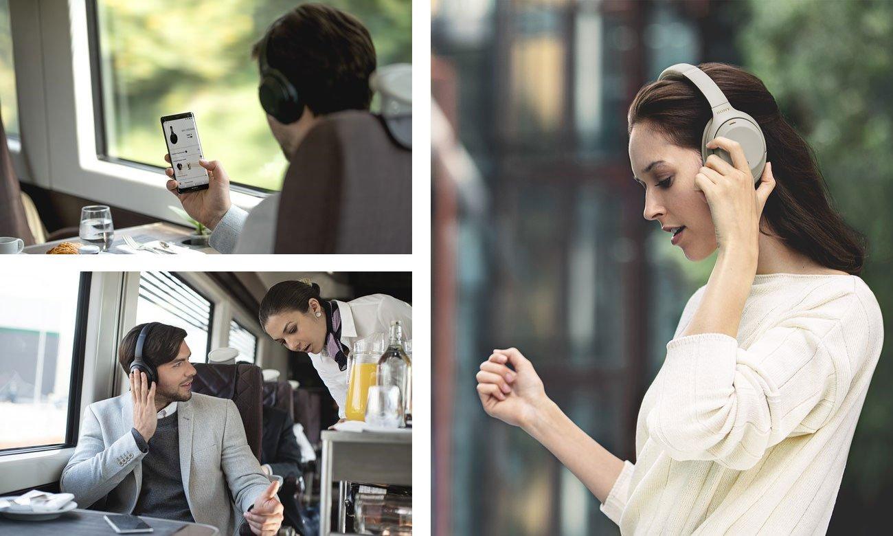 Optymalizacja słuchawek Sony WH-1000XM3B