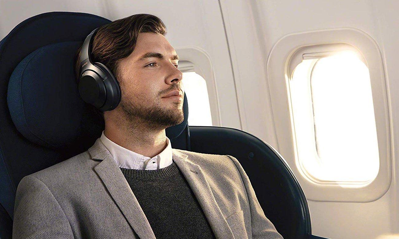 Słuchawki idealne do podróżowania Sony WH-1000XM3