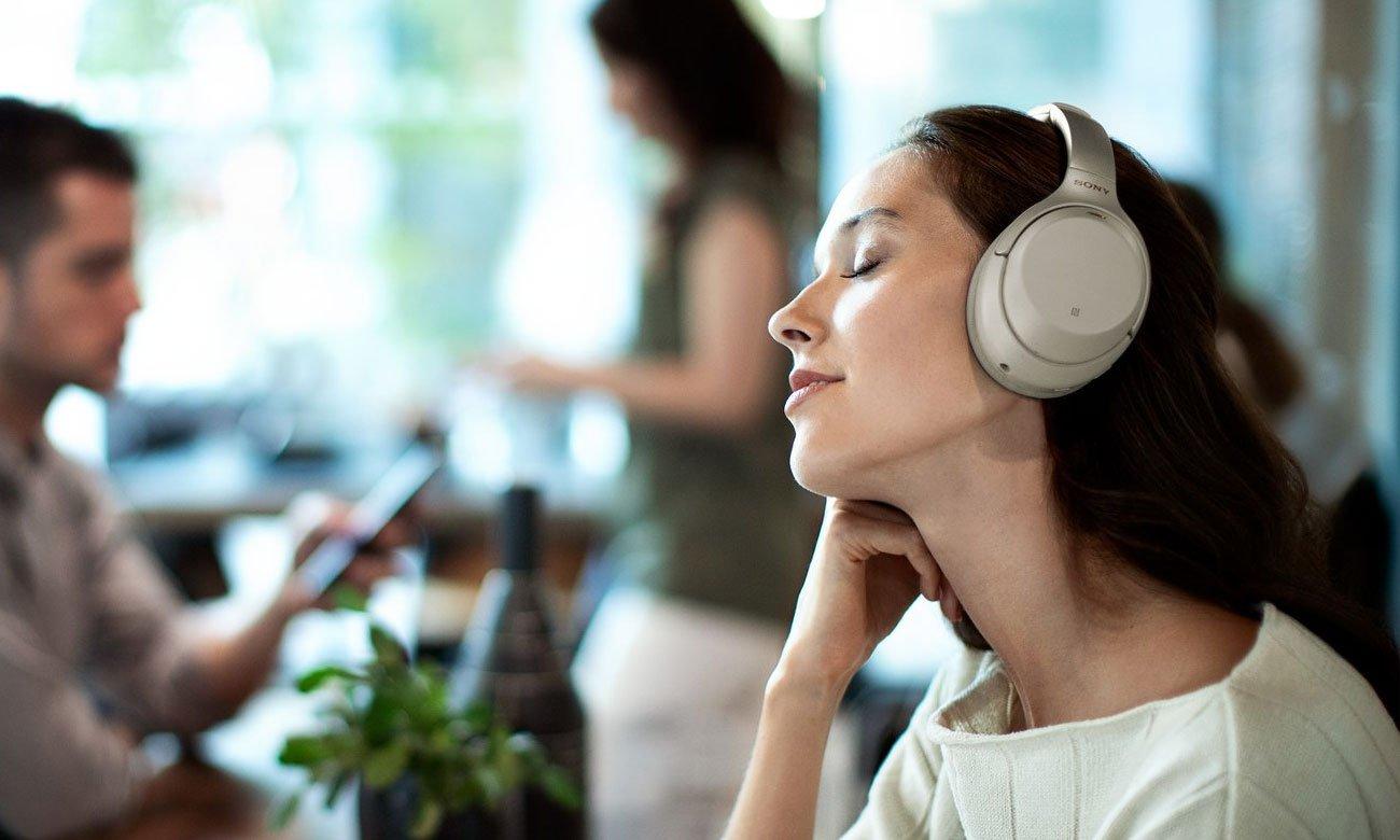 Wysokiej klasy słuchawki nauszne Sony WH-1000XM3B