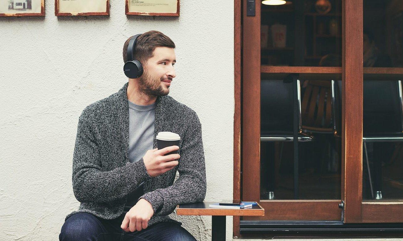 Słuchawki bezprzewodowe Sony WH-CH500B czarne
