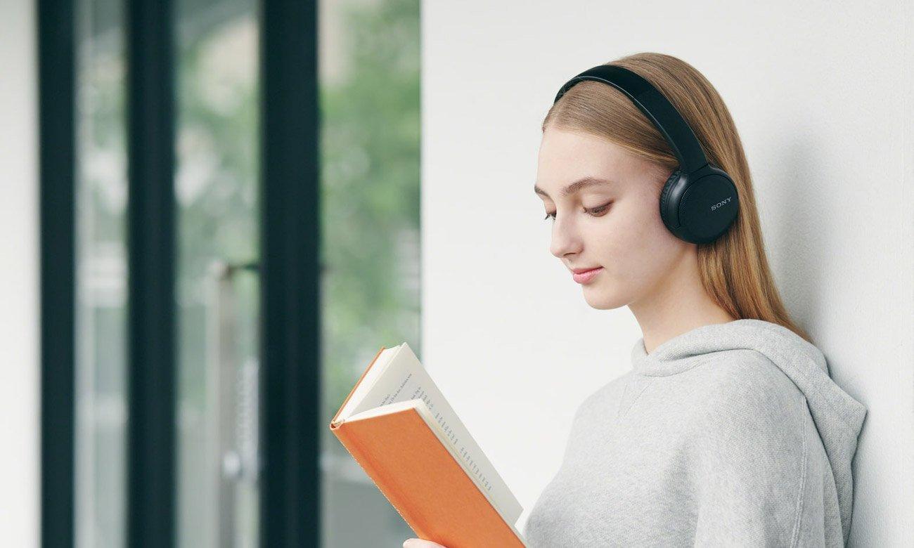 Słuchawki bezprzewodowe Sony WH-CH510B czarne