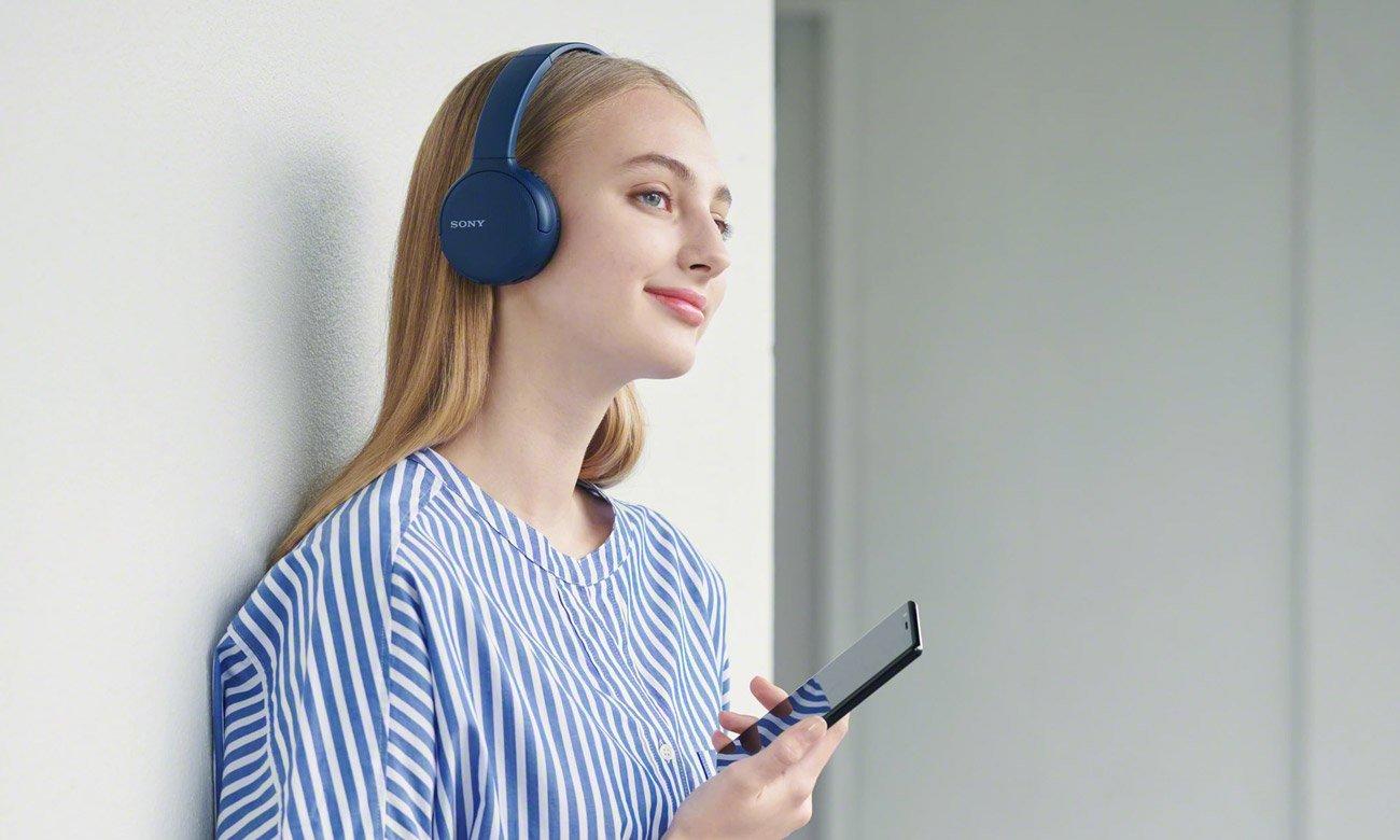 Słuchawki bezprzewodowe Sony WH-CH510L czarne