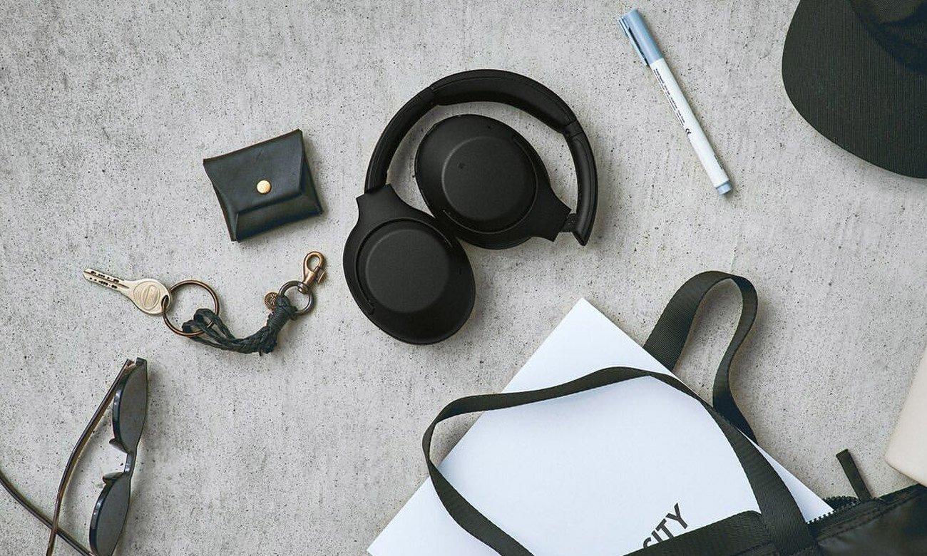 Składane słuchawki bezprzewodowe Sony WH-XB900N