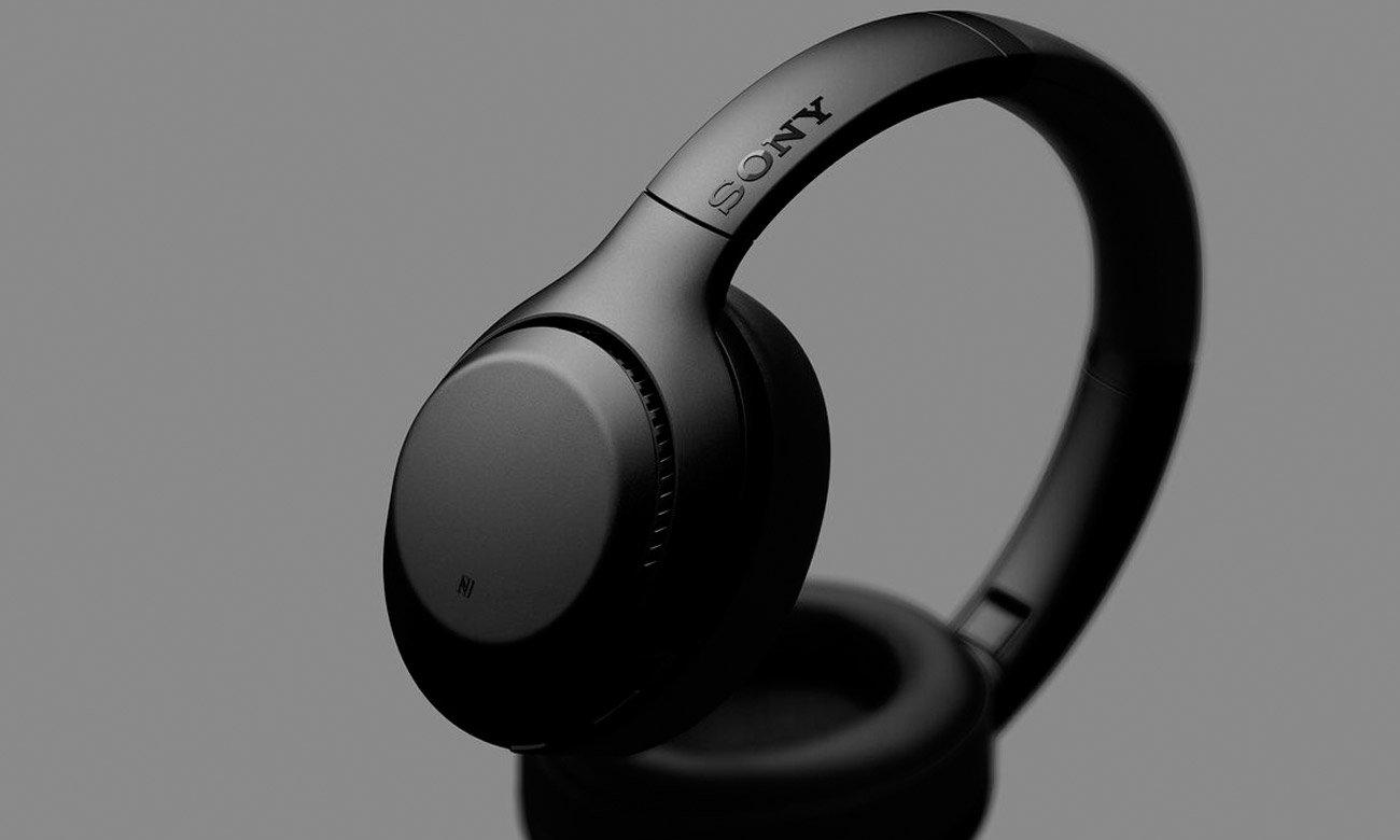Słuchawki bezprzewodowe Sony WH-XB900N z mikrofonem, NFC, Bluetooth