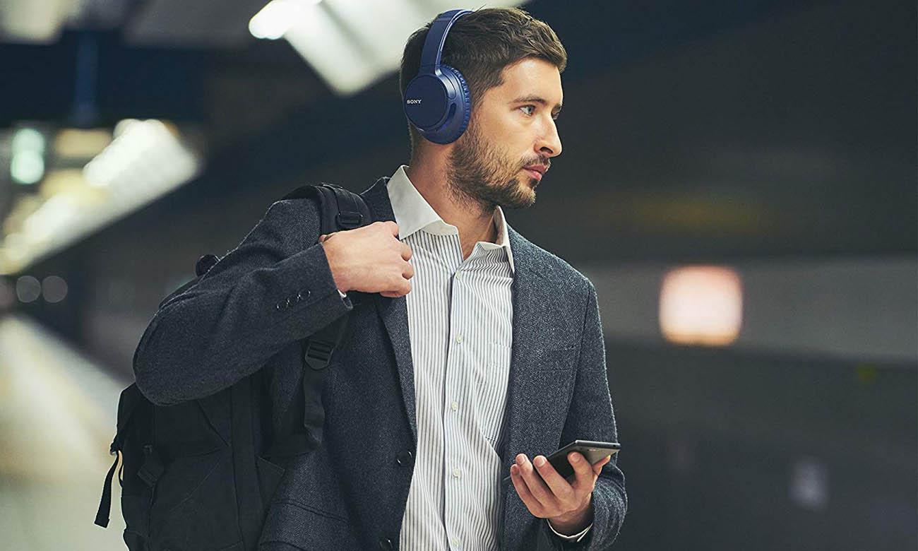 Słuchawki bezprzewodowe Sony WH-CH700N z mikrofonem, NFC, Bluetooth