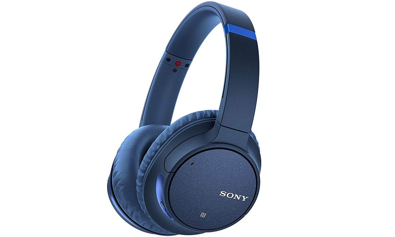 Słuchawki bezprzewodowe Sony WH-CH700N ANC niebieskie