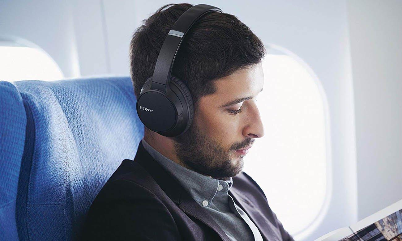 Technologia aktywnej redukcji szumów w słuchawkach Sony WH-CH700N