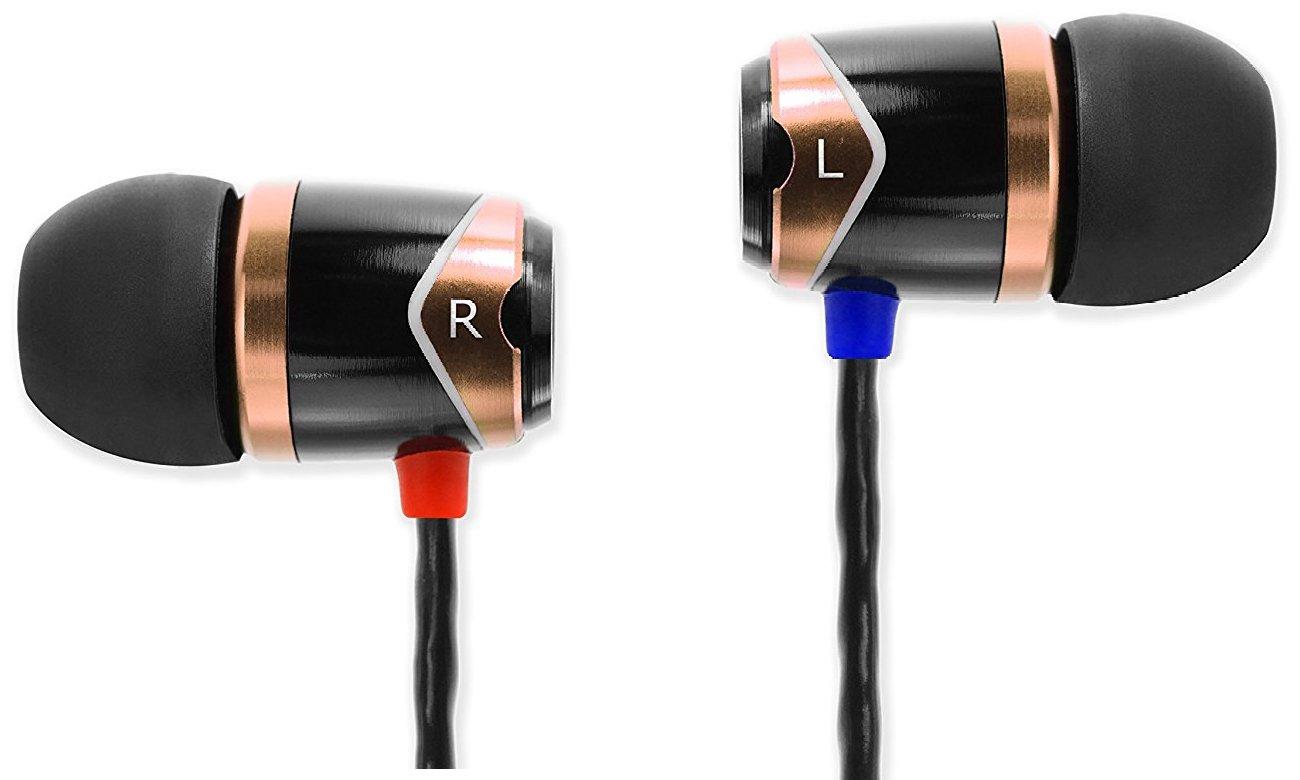 Słuchawki przewodowe SoundMagic E10 Black-Gold