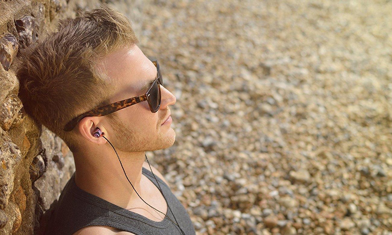 Słuchawki dokanałowe SoundMagic E10 złote