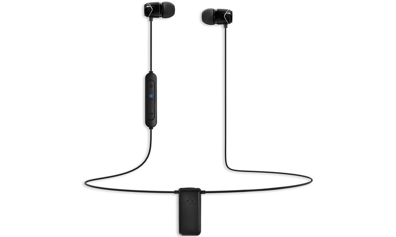 Słuchawki bezprzewodowe dokanałowe SoundMagic E10BT Black