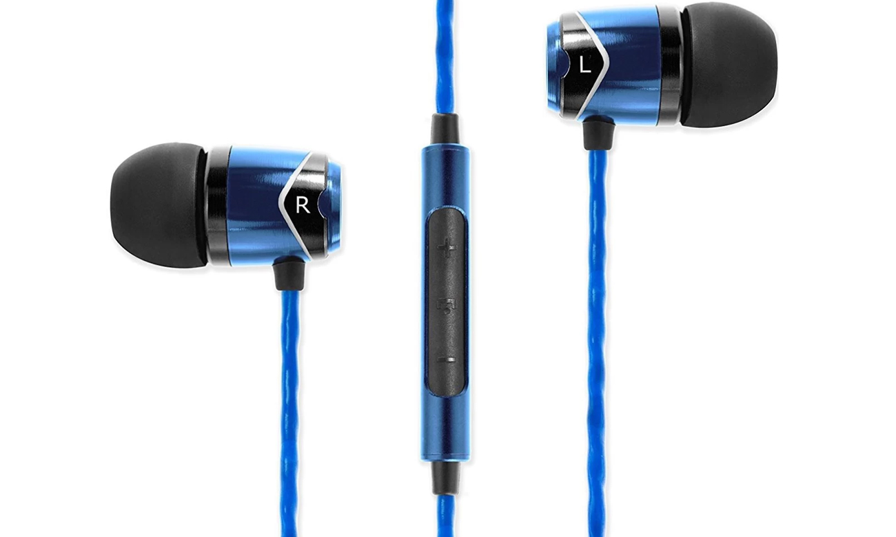 Słuchawki dokanałowe SoundMagic E10C Black-Blue