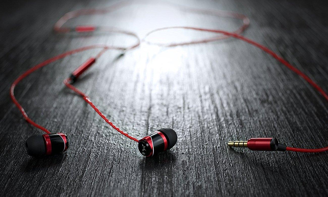 Słuchawk douszne z mikrofonem SoundMagic E10C
