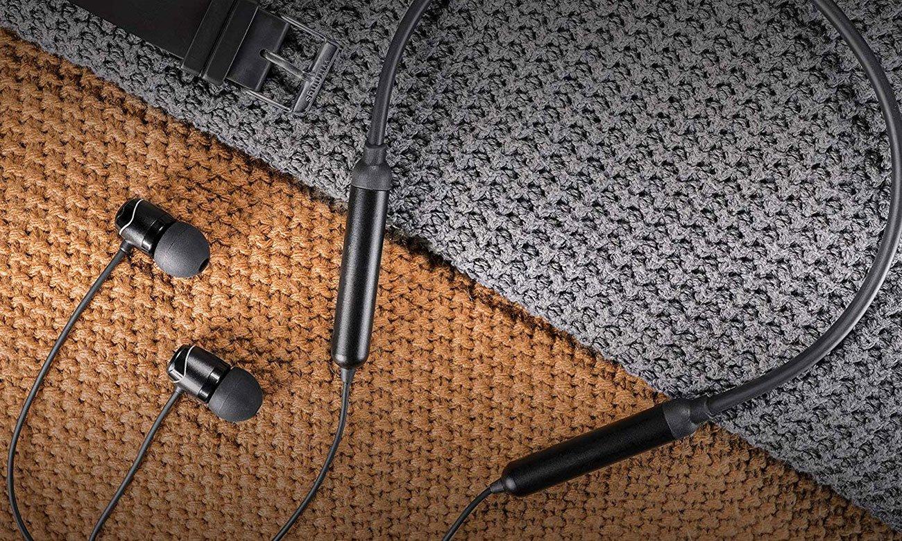 Bezprzewodowe słuchawki dokanałowe SoundMagic E11BT