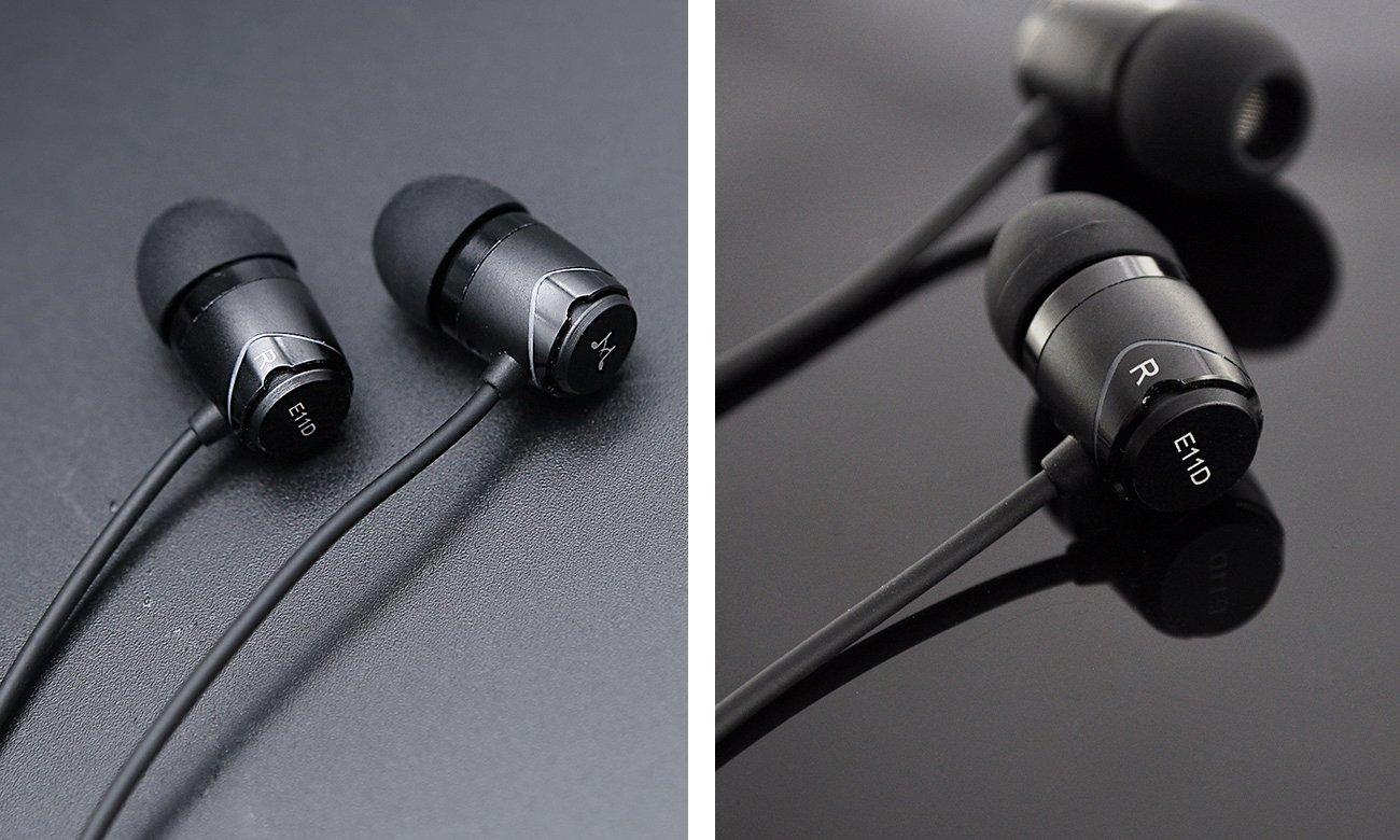 Brzmienie słuchawek SoundMagic E11D Black