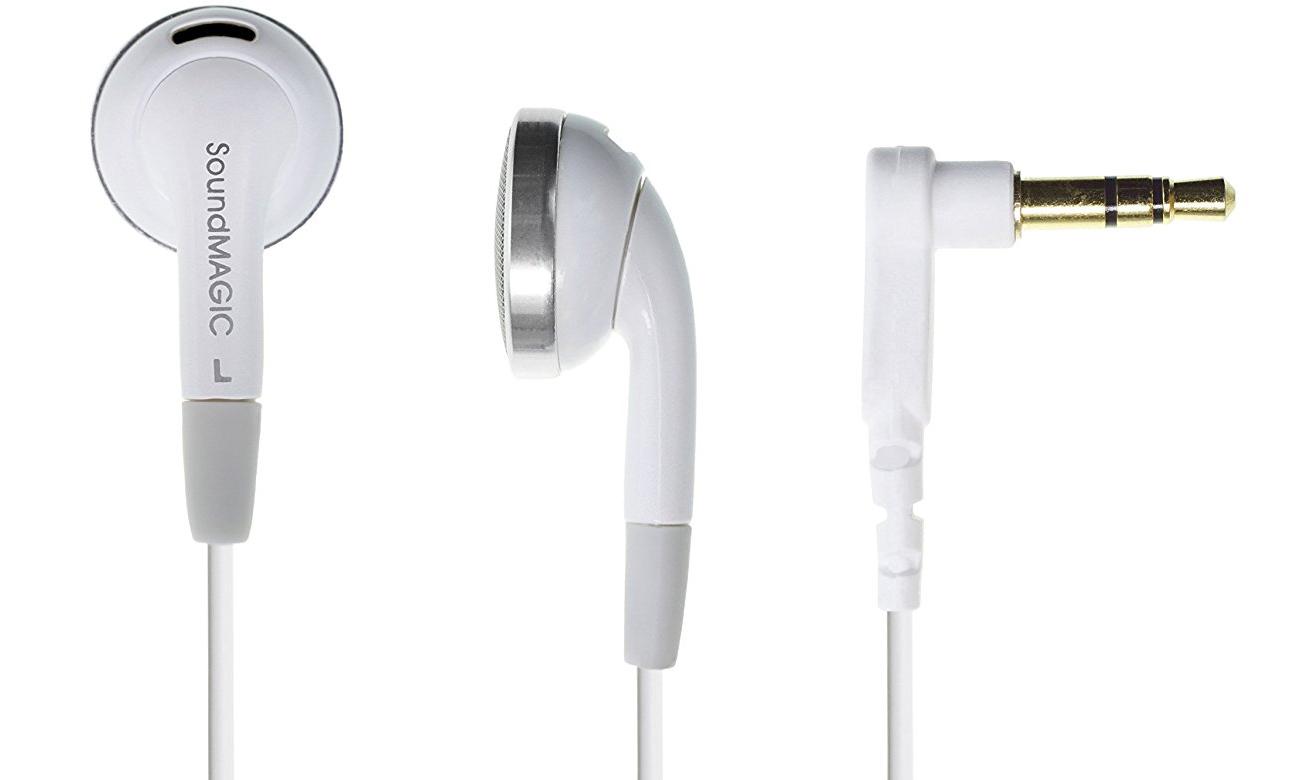 Słuchawki przewodowe SoundMagic EP30 White