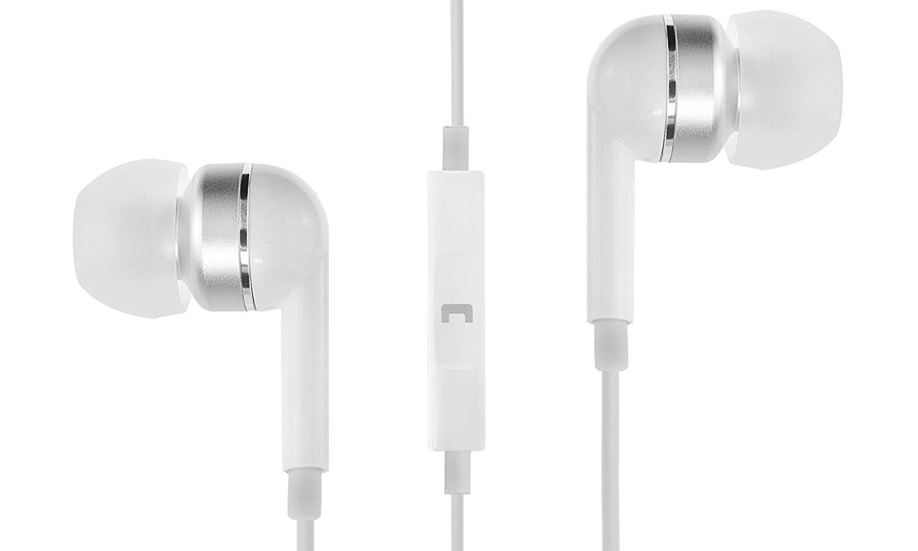 Słuchawki przewodowe SoundMagic ES19S White