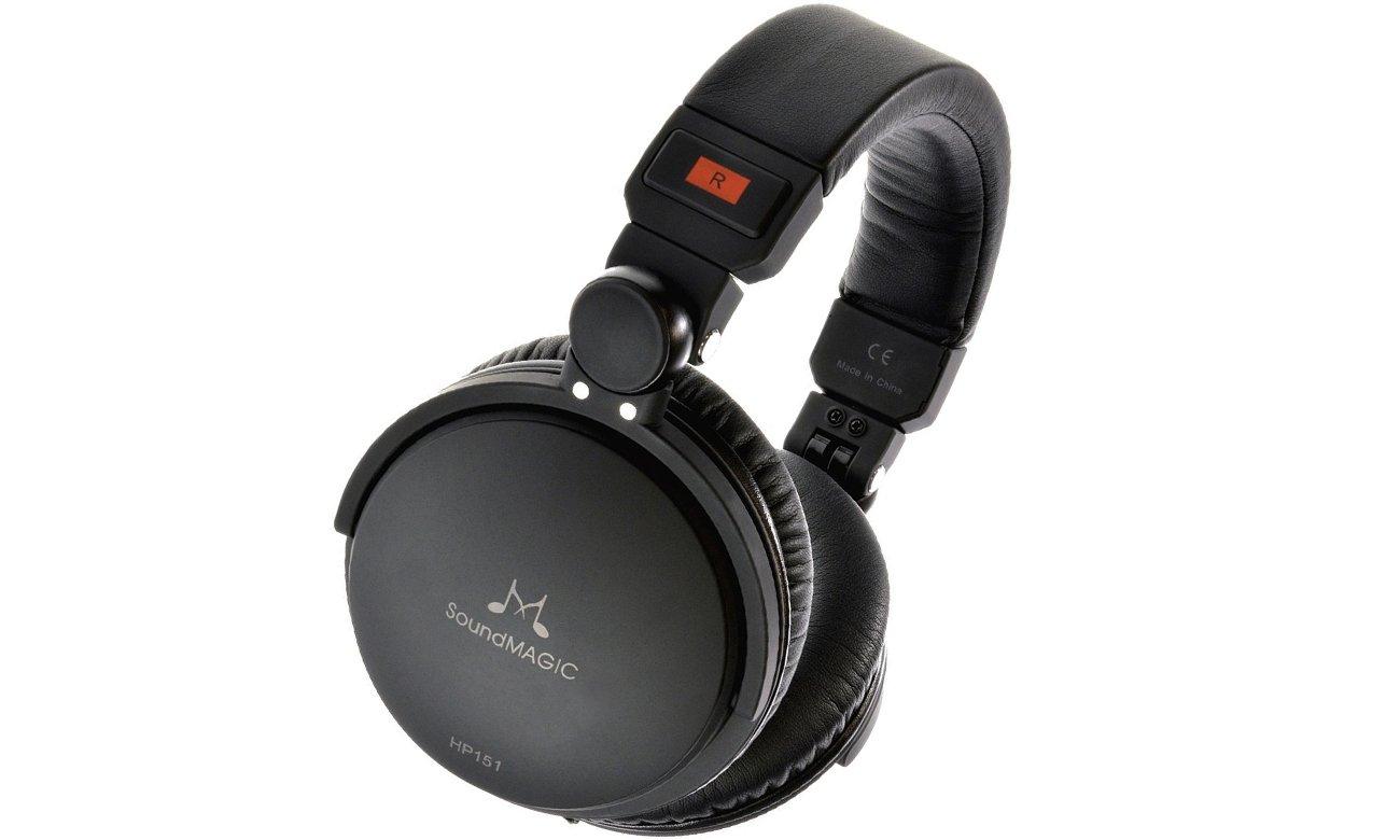 Słuchawki nauszne, przewodowe SoundMagic HP151
