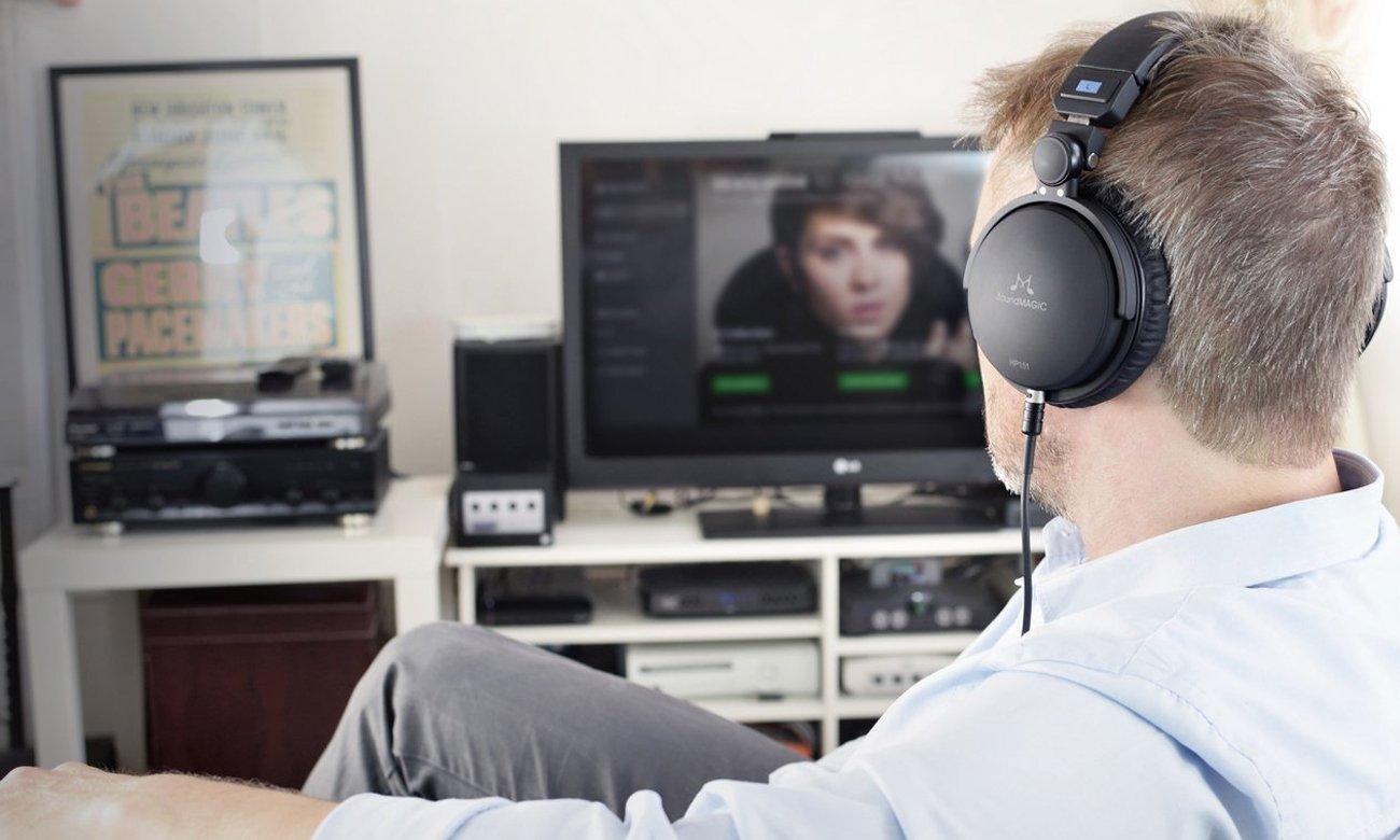 Mocny, czysty dźwięk z słuchawek studyjnych SoundMagic HP151