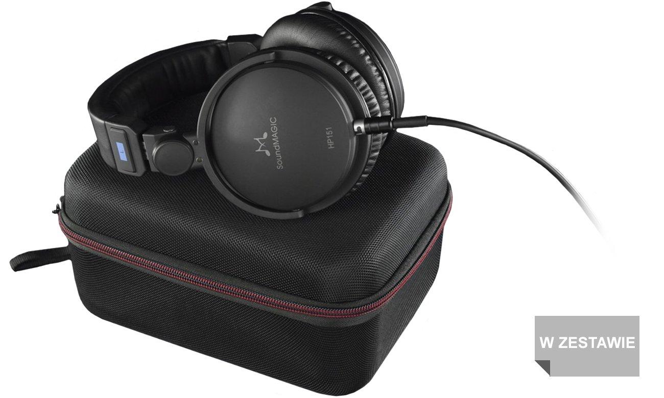Wyposażenie słuchawek SoundMagic HP151