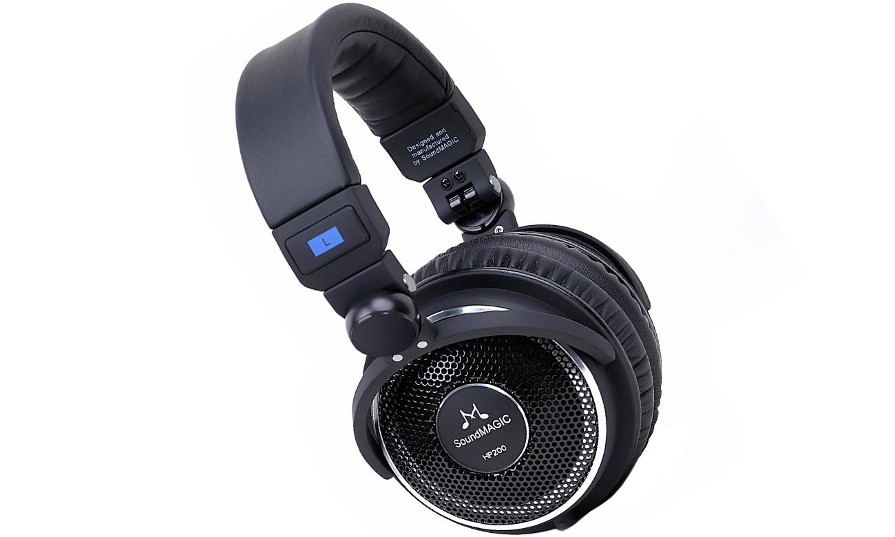 Słuchawki nauszne, przewodowe SoundMagic HP200