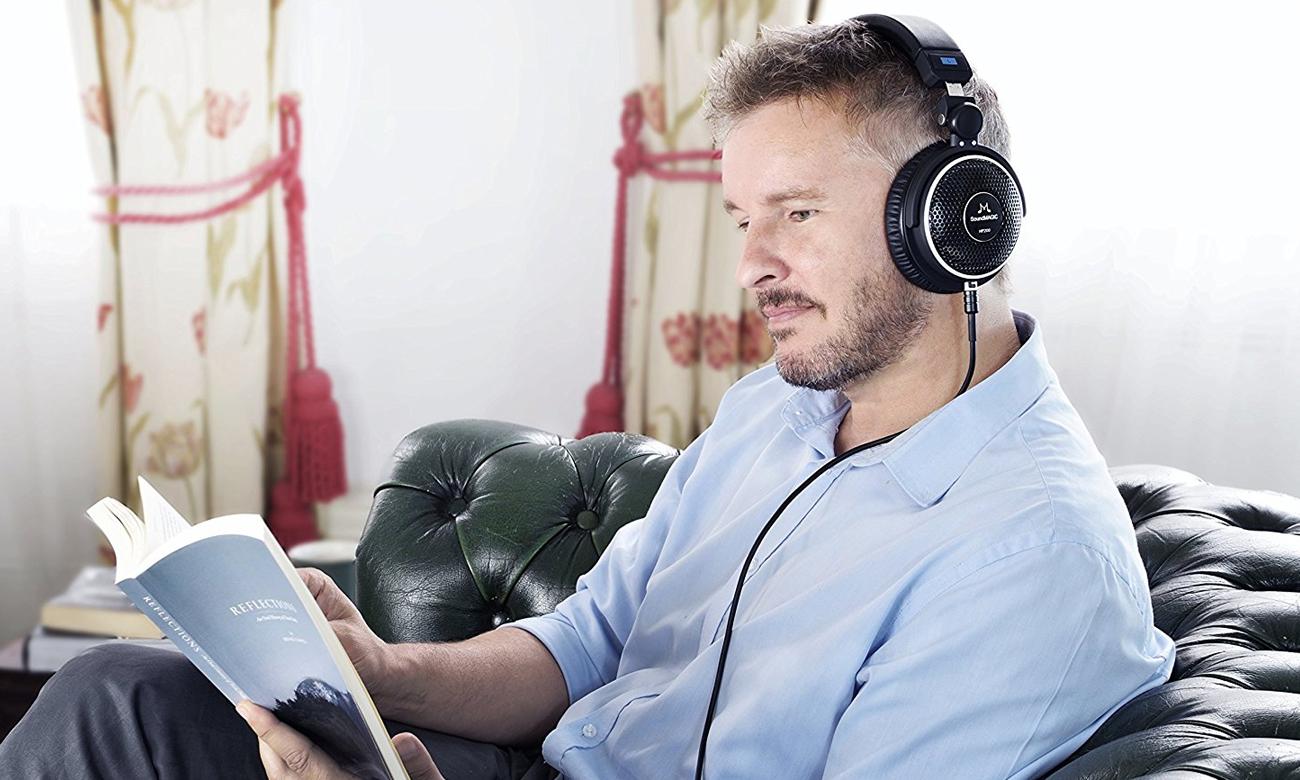 Słuchawki z odpinanym przewodem SoundMagic HP200