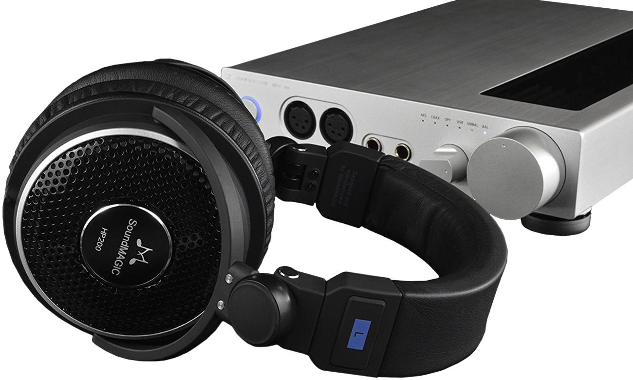 Wygodne słuchaweki nauszne SoundMagic HP200