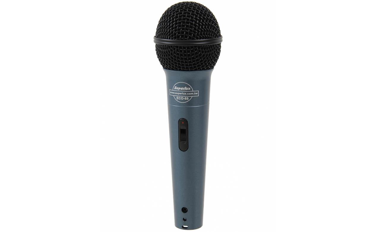 Mikrofon dynamiczny Superlux ECO-88S opinie