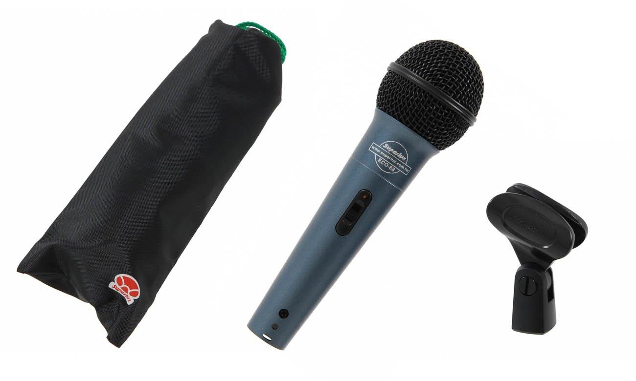 Mikrofon XLR Superlux ECO-88S