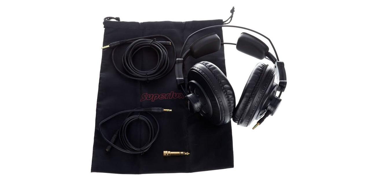 W opakowaniu słuchawek Superlux HD668B
