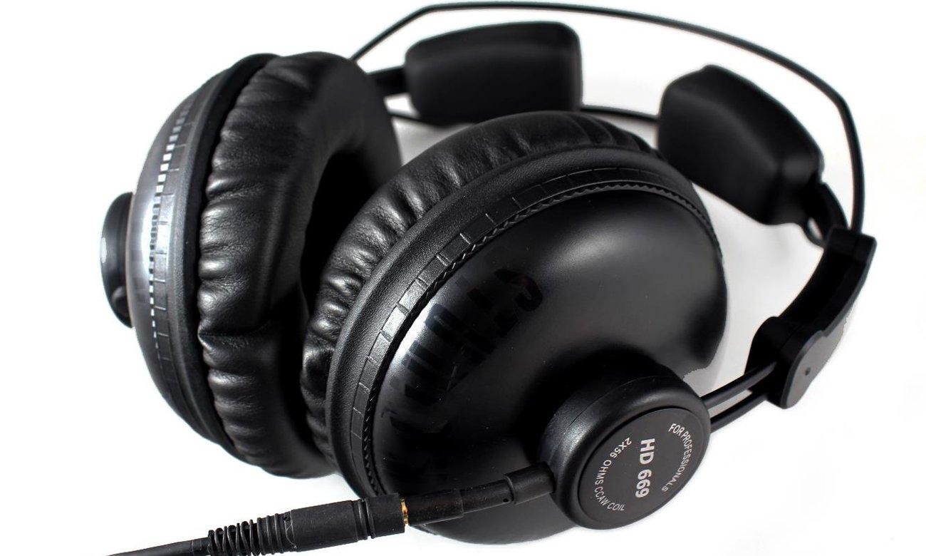 Wygodne słuchaweki nauszne Superlux HD669