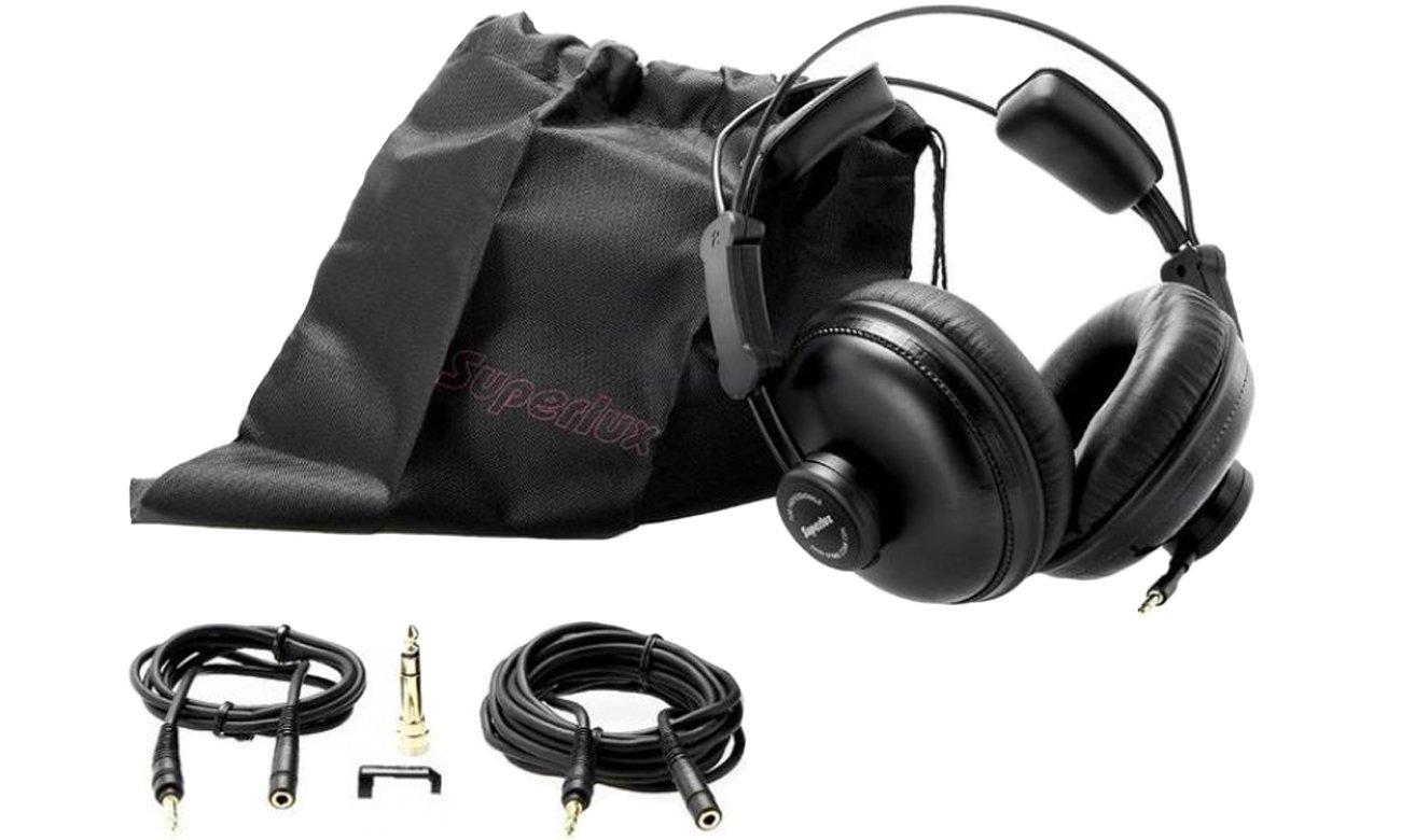 Wyposażenie słuchawek Superlux HD669