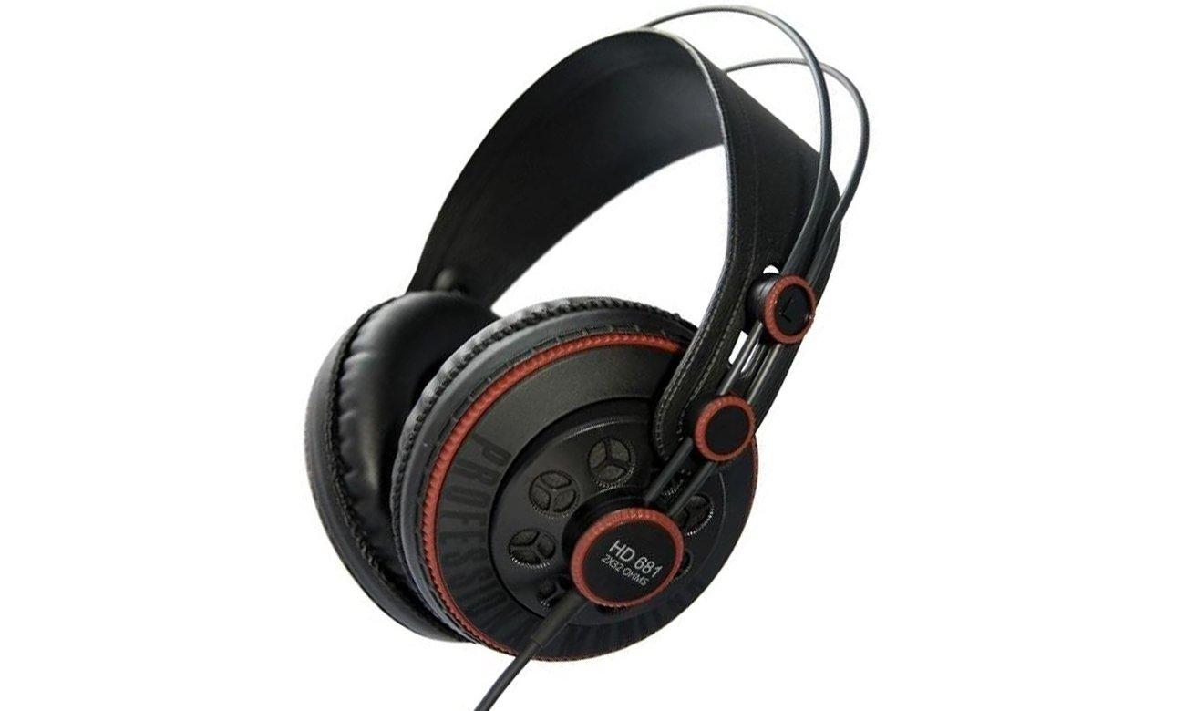 Superlux HD681 Black-Red
