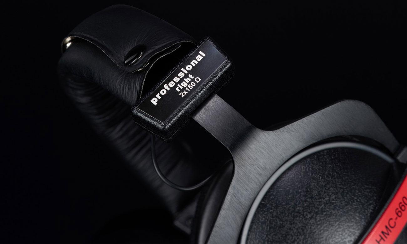 Ergonomiczna konstrukcja słuchawek Superlux HMC660X