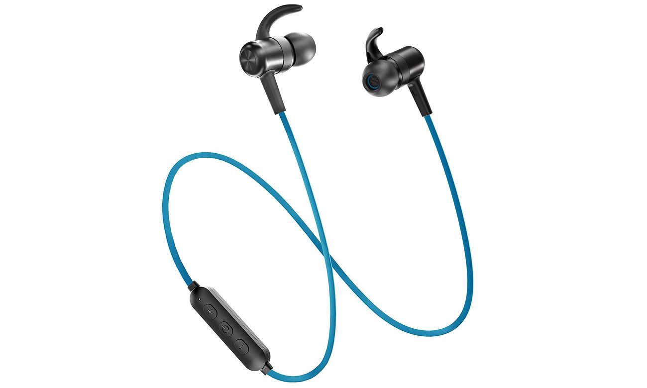 Słuchawki bezprzewodowe dokanałowe TaoTronics TT-BH07 niebieskie