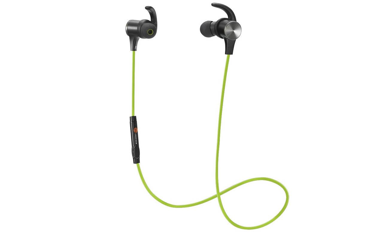 Słuchawki bezprzewodowe dokanałowe TaoTronics TT-BH07 zielone