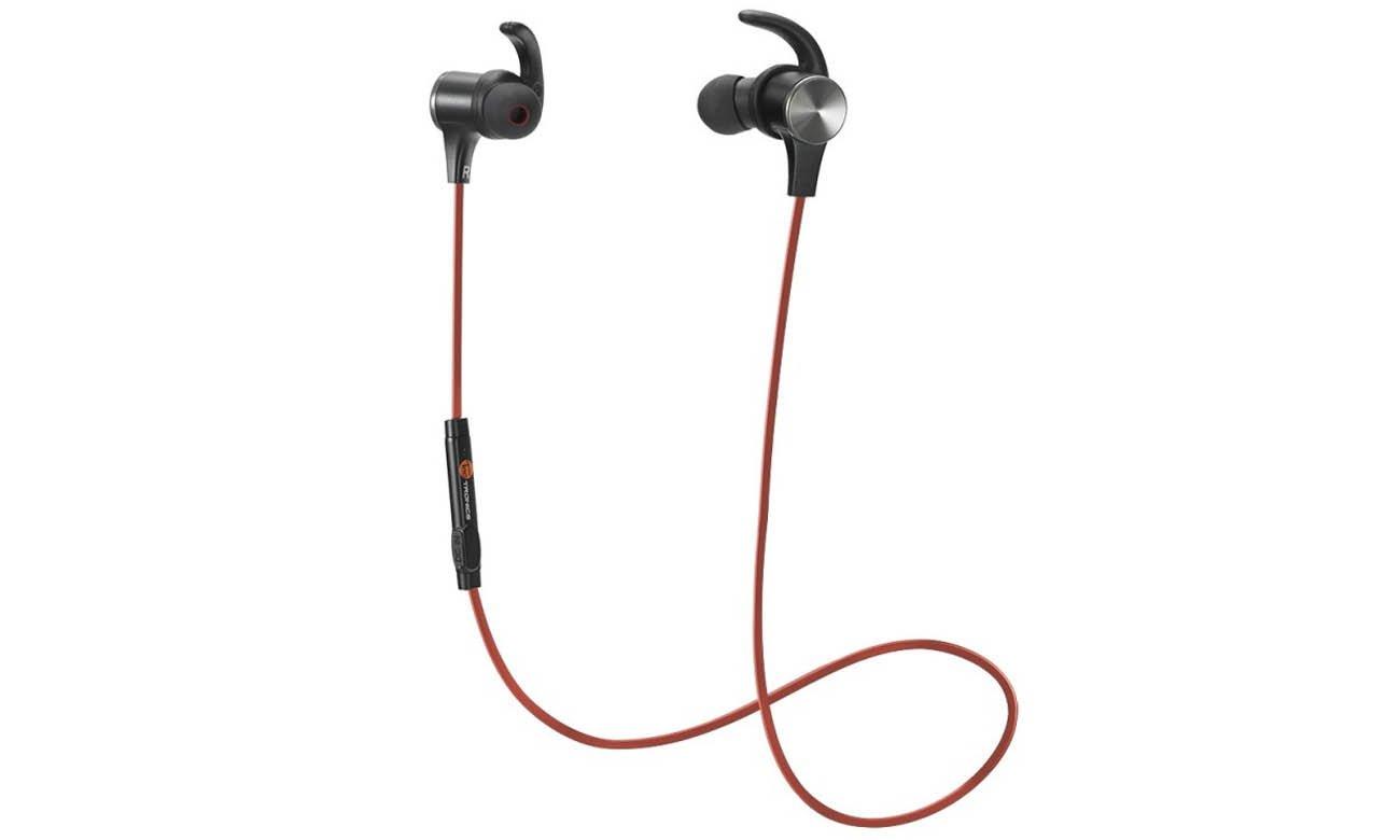 Słuchawki bezprzewodowe dokanałowe TaoTronics TT-BH07 czerwone