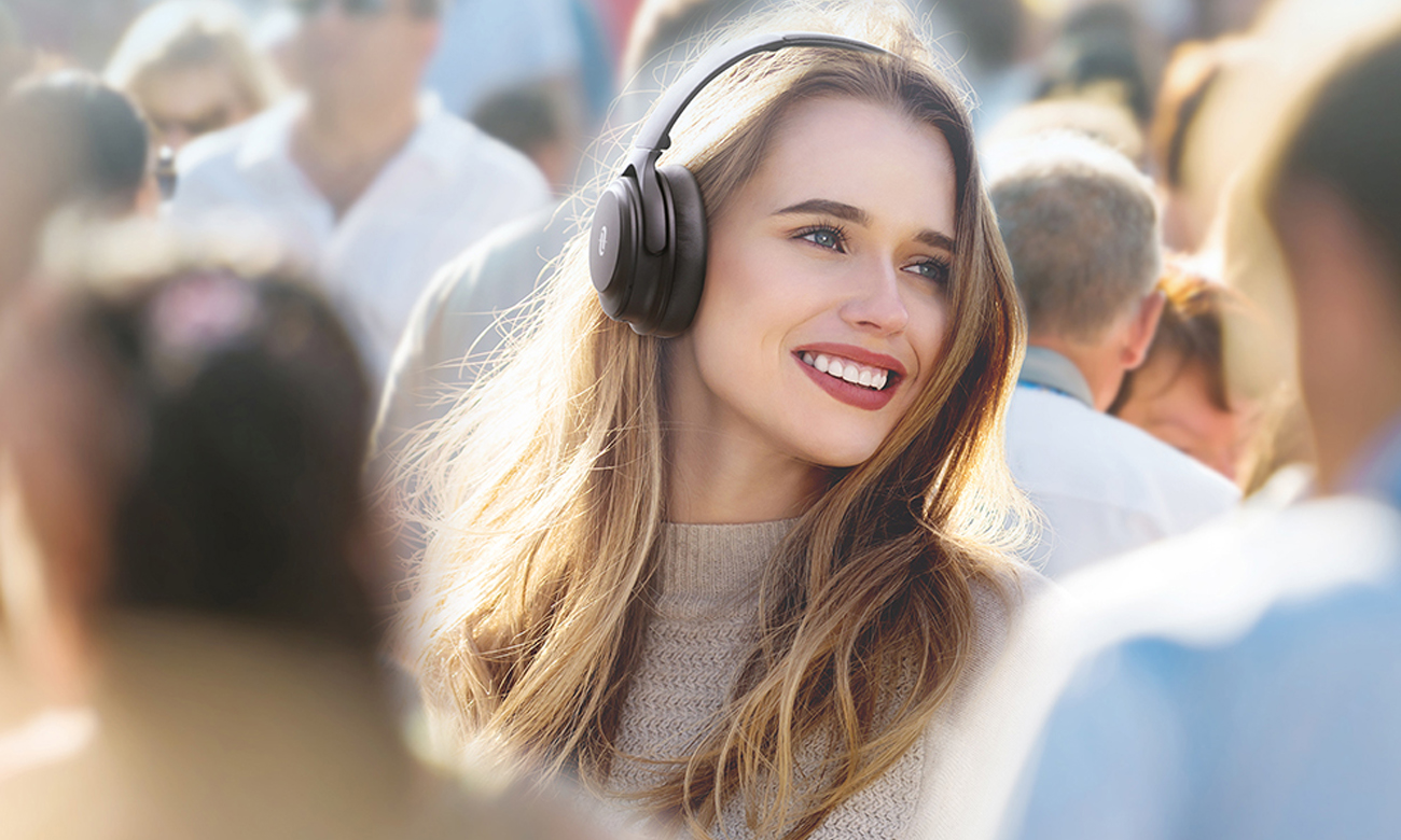 Technolgia Active Noise Cancelling w słuchawkach TT-BH085