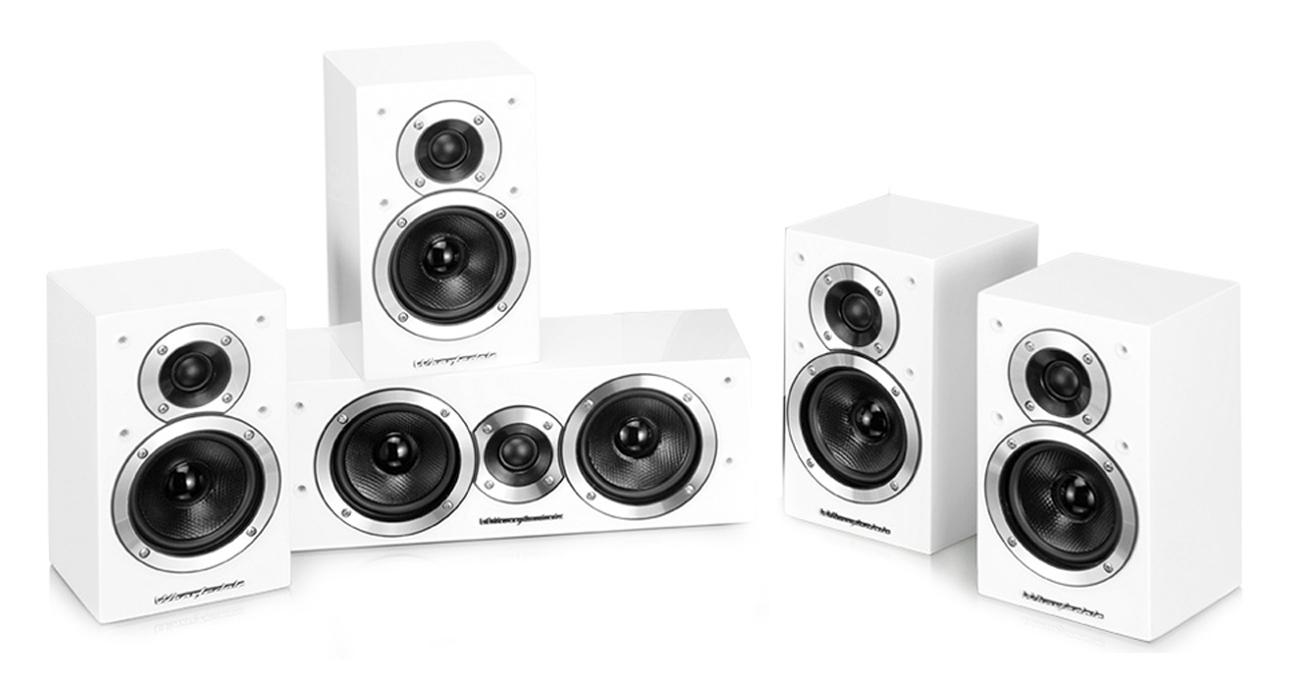 Zestaw głośników Wharfedale MOVIESTAR DX-1SE 5.1 biała